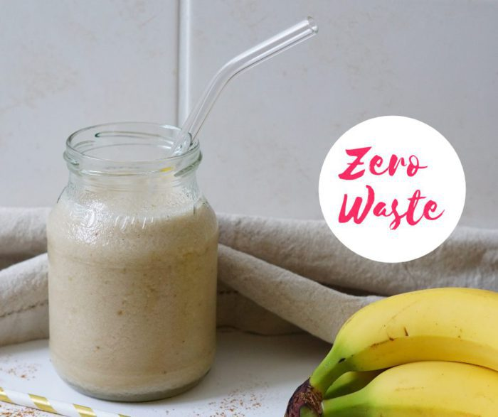 Vegane Bananenmilch