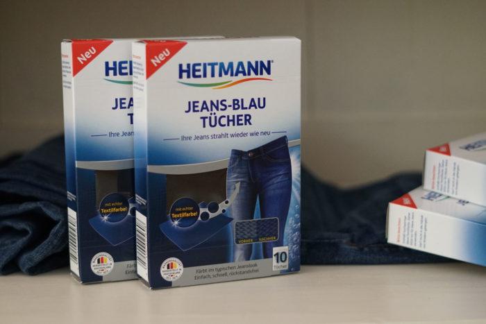 Jeans-Blau Tücher