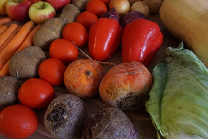 Saisonales und regionales Obst und Gemüse